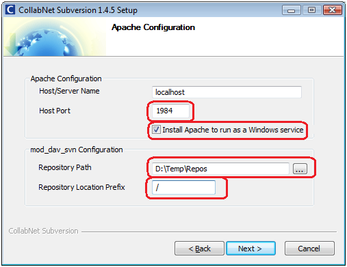 Step by Step Installation Of Subversion Over Apache/SSL
